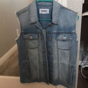 BB Dakota denim vest